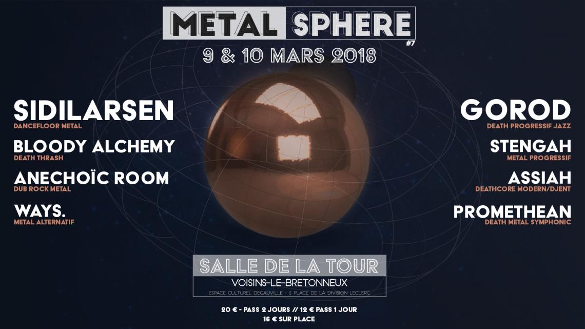 Metal Sphère #7