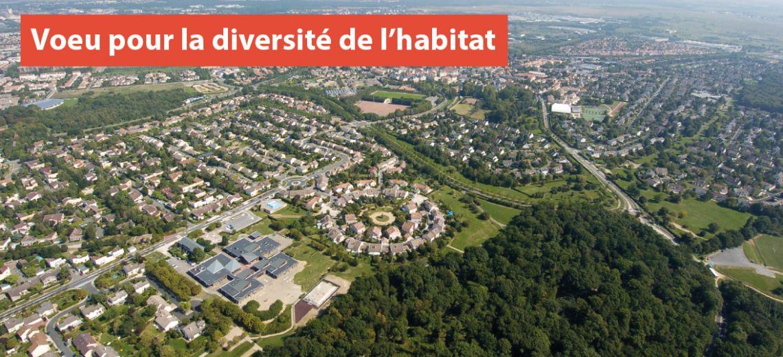 Voeu pour la diversité de l'habitat