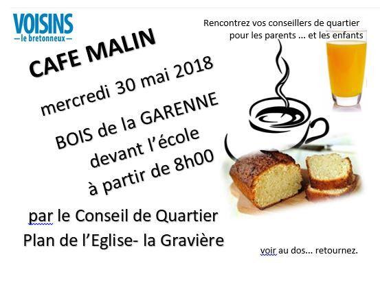 Venez rencontrer les membres du conseil de quartier du Plan de l'Eglise la Gravière autour d'un café