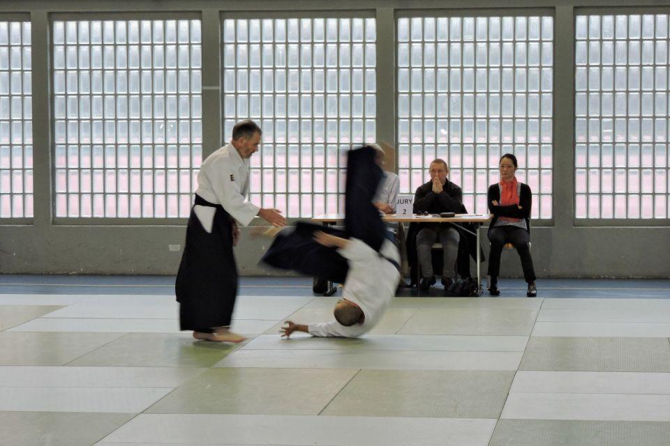 L'Aïkido Club de Voisins possède un nouveau SHODAN , ce matin Patrick a passé avec succès son grade de 1DAN - Bravo