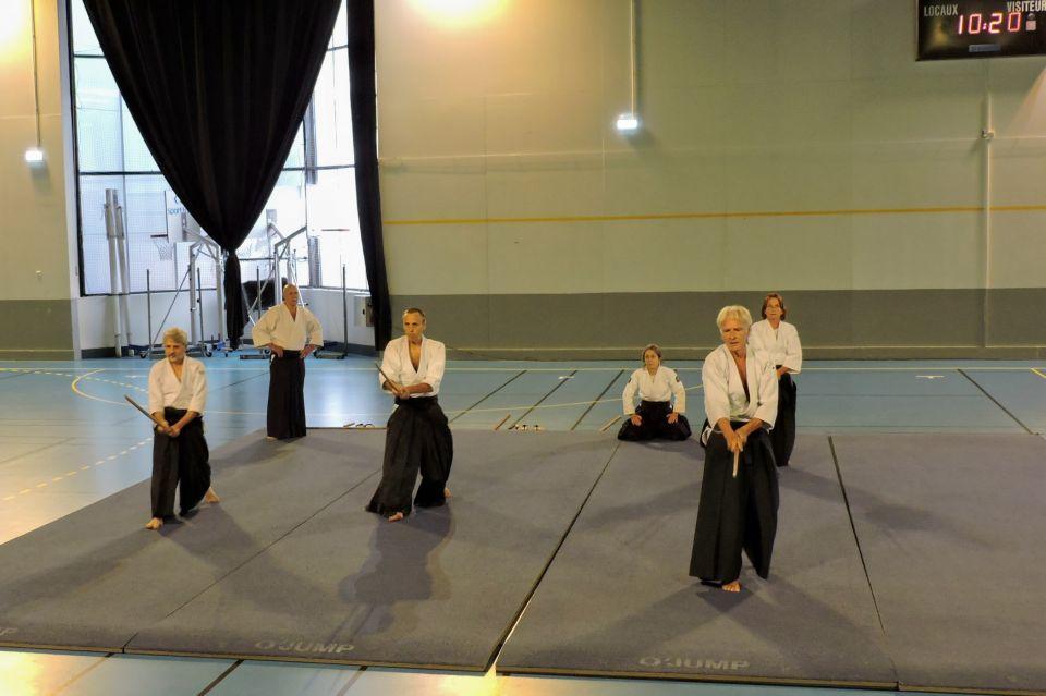 C'est DEMAIN - Tous aux Pyramides - Démonstrations Taekwondo de 10h30 à 11h et Aïkido 11h à 11h30 venez les encourager