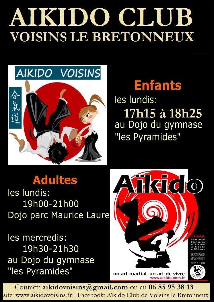 Portes ouvertes pour venir découvrir l'Aïkido et notre club, ☯?Venez comme vous êtes, un simple survêtement suffit pour une séance de découverte?