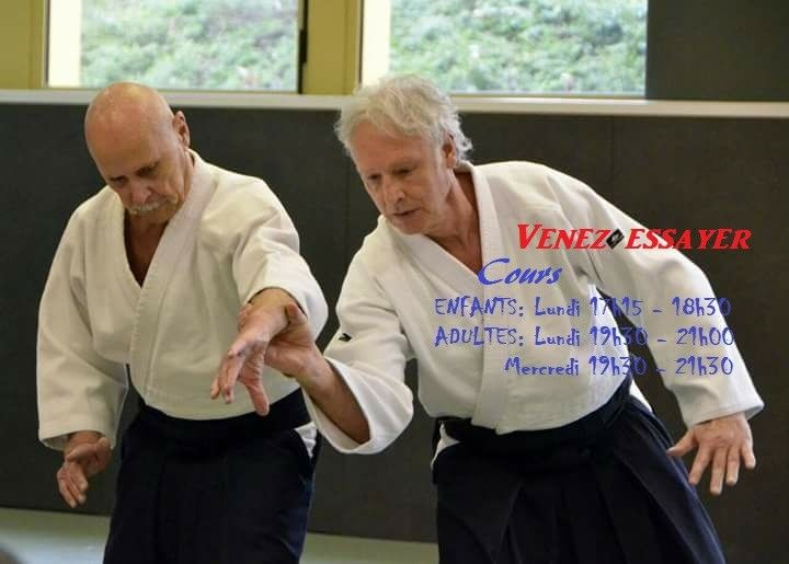 Ce soir cours Adultes - Centre sportif des Pyramides - Iaido de 18h00 à 19h15 - Aïkido de 19h30 à 21h30 - Pas de cour la semaine prochaine -