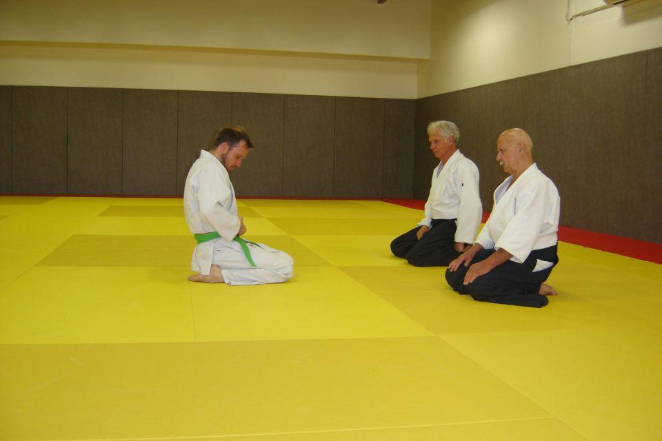 L'Aïkido Club de Voisins le Bretonneux compte un nouveau 3 Kyu dans ses rangs - Bravo à Sébastien
