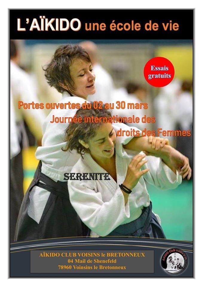 Pendant le mois de mars portes ouvertes à l'Aïkido Club de Voisins le Bretonneux