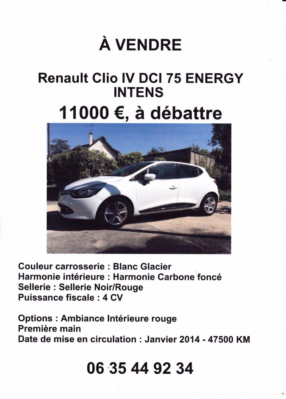 A vendre Clio Très bon état