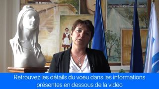 Voeu de Madame le Maire - avril 2017